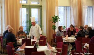 riveden Kampus – ravintola Wanha Opisto, Vallesmanni Orivesi Kuva: Jari Peltonen