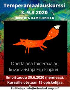 Kampus – Temperamaalauskurssi 2020