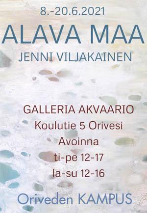 Oriveden Kampus – Galleria Akvaario – Alava maa taidenäyttely