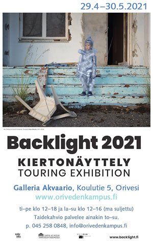 Oriveden Kampus – Galleria Akvaario – Backlight2021 näyttely