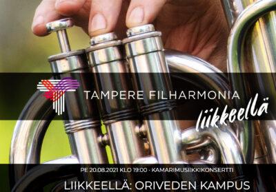 Oriveden Kampus Tampere filharmonia - liikkeellä 2021