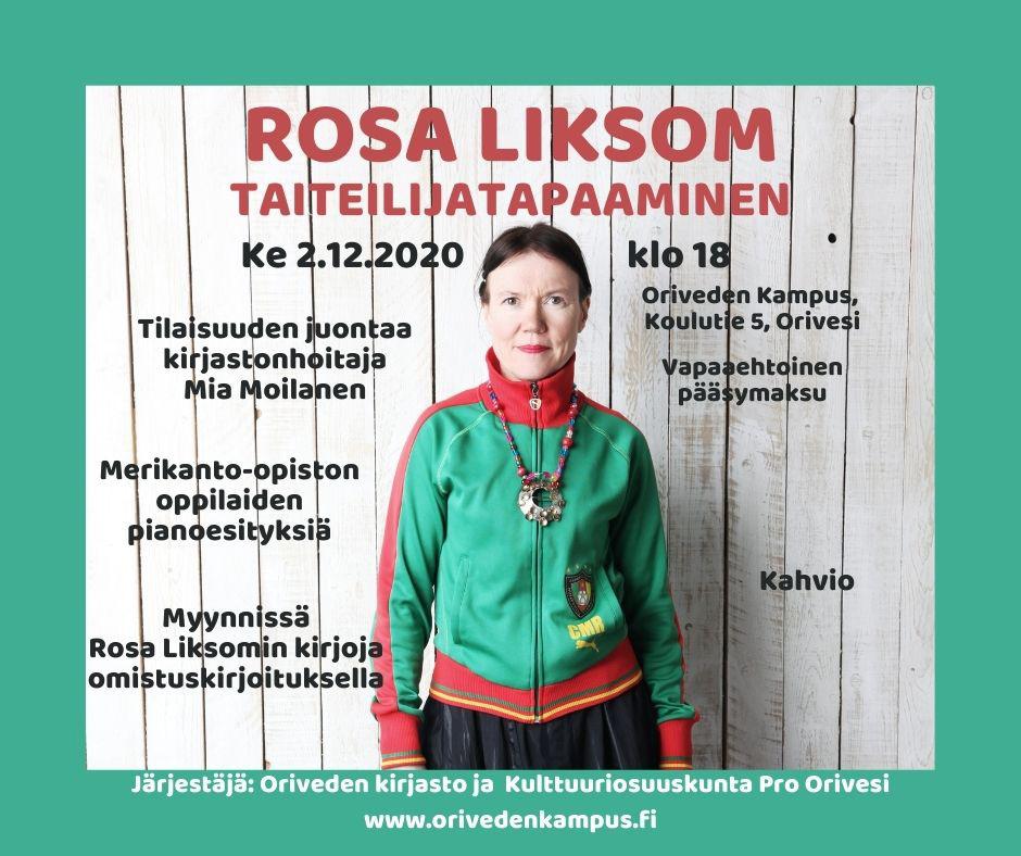 Rosa Liksom – Oriveden Kampus