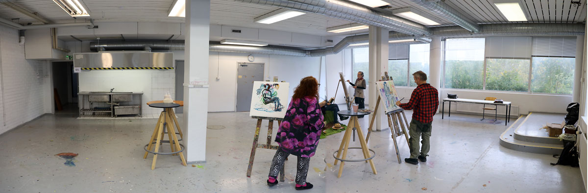 Oriveden Kampus artist residence taiteilijaresidenssi Finland